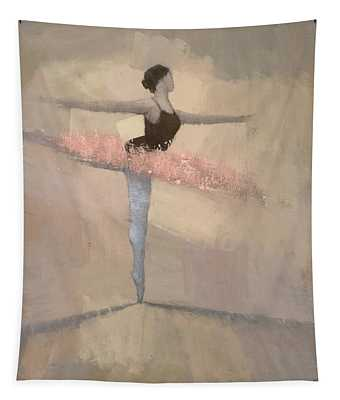 The Pink Tutu Tapestry