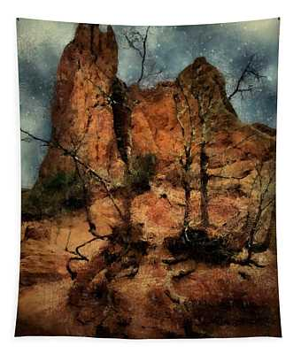 The Place Of Snakes Tapestry
