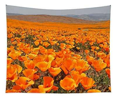 The Poppy Fields - Antelope Valley Tapestry
