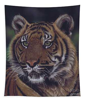 The Prince Of The Jungle Tapestry