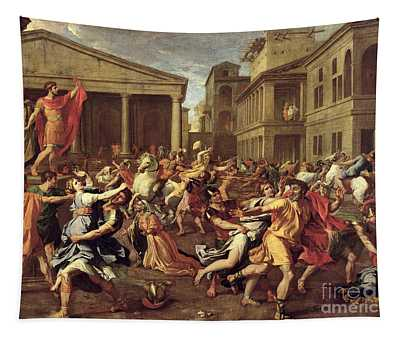The Rape Of The Sabines Tapestry