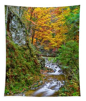 Cascades And Waterfalls Tapestry