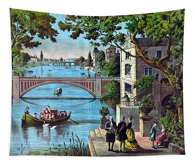 The Reception Of Benjamin Franklin In France Tapestry