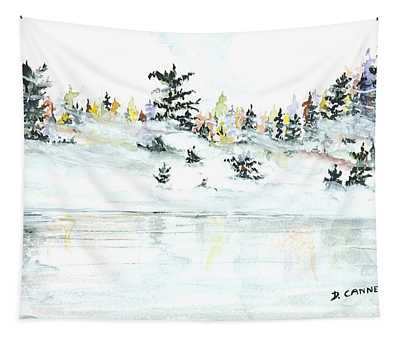 The Reflection Lake Tapestry