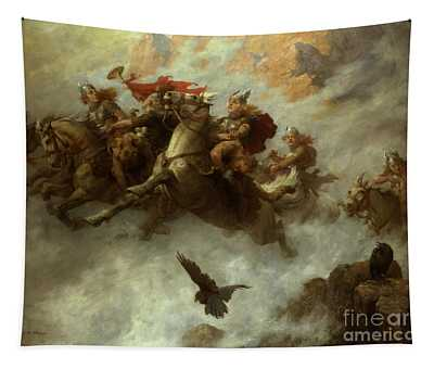 The Ride Of The Valkyries  Tapestry