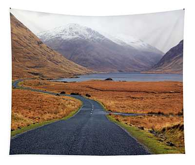 The Road In Tapestry