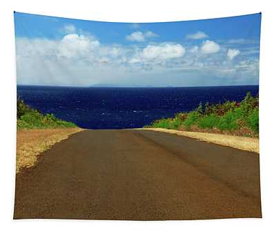 The Road To Maui Tapestry