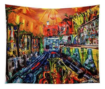The Sangria Jug Tapestry