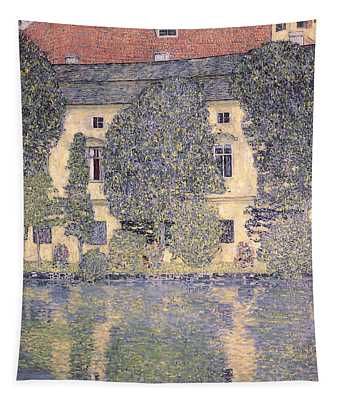 The Schloss Kammer On The Attersee IIi Tapestry