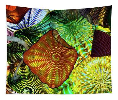 The Shape Of Color 5 Tapestry