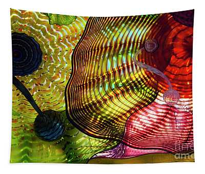 The Shape Of Color 6 Tapestry