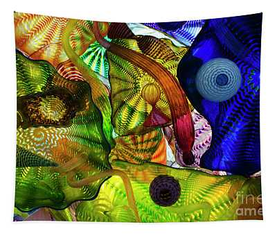 The Shape Of Color Tapestry