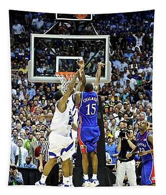 The Shot, 3.1 Seconds, Mario Chalmers Magic, Kansas Basketball 2008 Ncaa Championship Tapestry