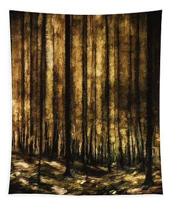 The Silent Woods Tapestry