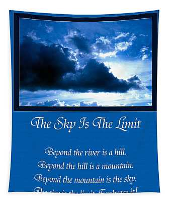 The Sky Is The Limit Tapestry