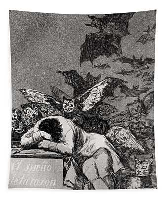 The Sleep Of Reason Produces Monsters Tapestry