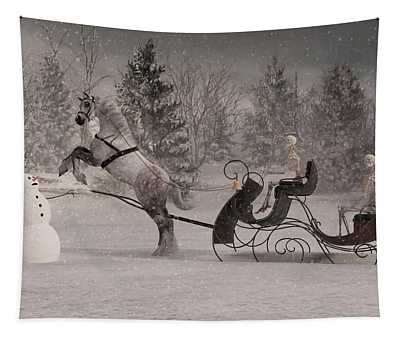 The Snowman Tapestry