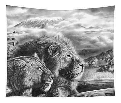 The Snows Of Kilimanjaro Tapestry