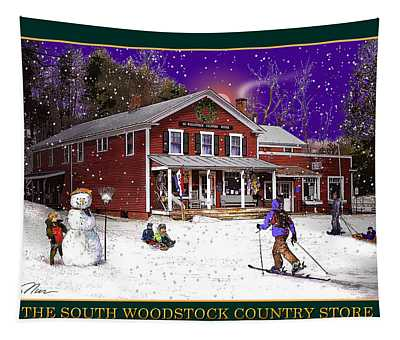 The South Woodstock Country Store Tapestry