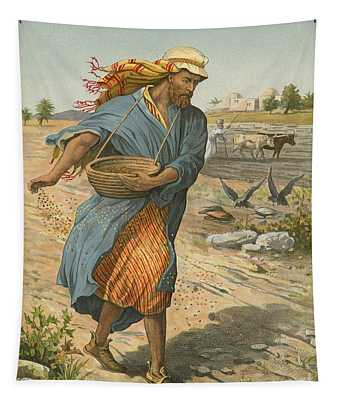 The Sower Sowing The Seed Tapestry