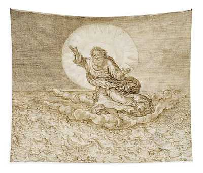 The Spirit Of God Soaring Over The Waters Tapestry
