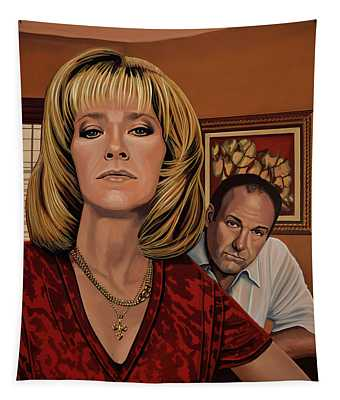 The Sopranos Painting Tapestry