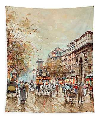 The St. Martin Gate, Paris Tapestry