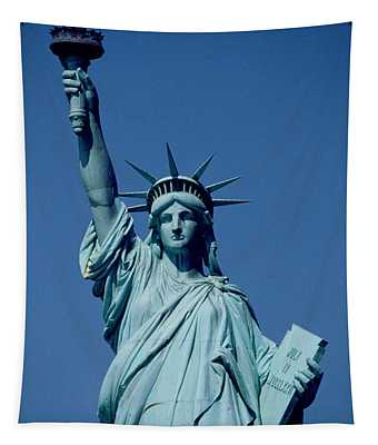 The Statue Of Liberty Tapestry