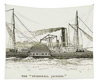 The Stonewall Jackson Steamship - Toned Tapestry