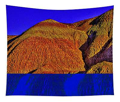 The Tepees Up Close Tapestry