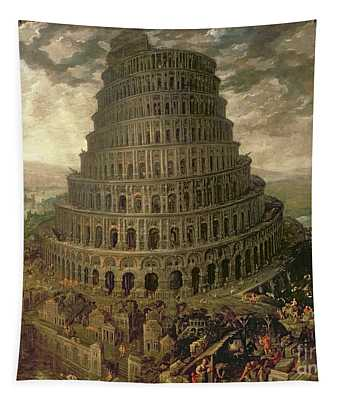 The Tower Of Babel Tapestry