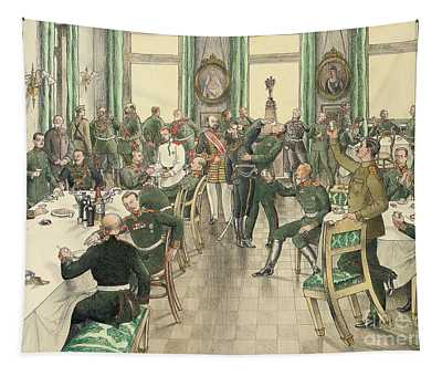 The Traditional Breakfast Held To Commemorate The Battle Of Telish Tapestry