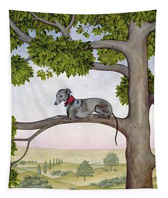 The Tree Whippet Tapestry