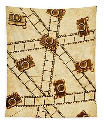 The Vintage Photo Gallery Tapestry