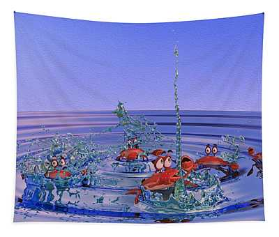 The Wading Pool Tapestry