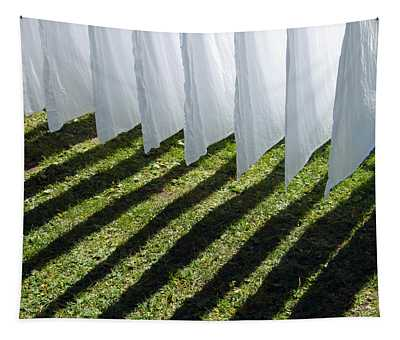 The Washing Is On The Line - Shadow Play Tapestry