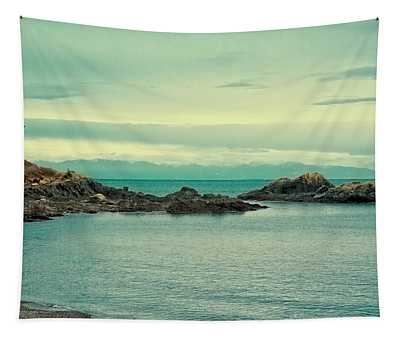The Waters Of Deception Pass Tapestry