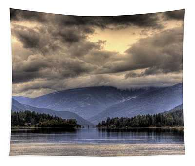The West Arm Of Kootenai Lake Tapestry