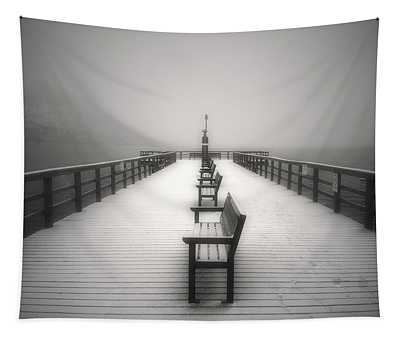 The Winter Pier Tapestry