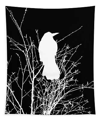 The Wisdom Of Crow Tapestry