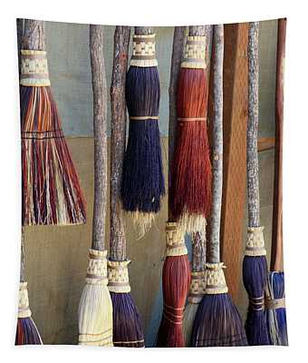 The Witches Brooms Tapestry