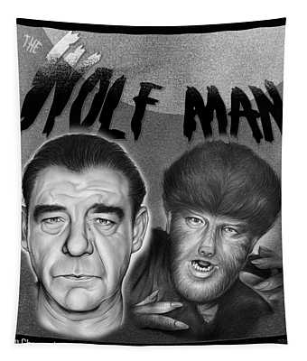The Wolf Man Tapestry