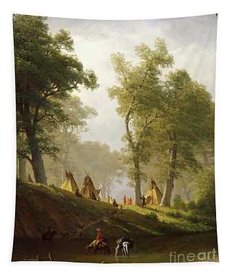 The Wolf River - Kansas Tapestry