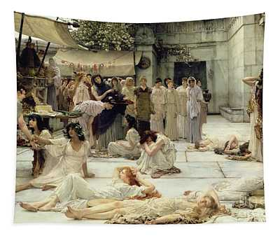 The Women Of Amphissa Tapestry