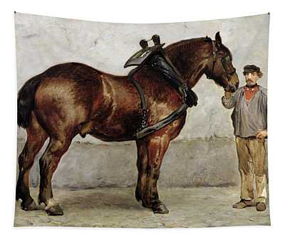 The Work Horse Tapestry