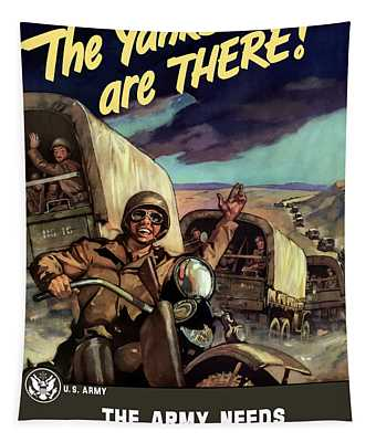 The Yanks Are There -- Ww2 Tapestry