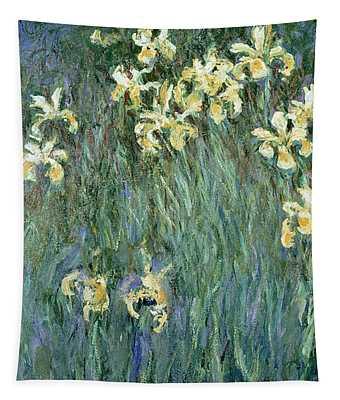 The Yellow Irises Tapestry