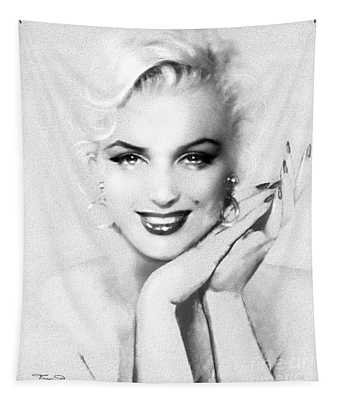 Theo's Marilyn 133 Bw Tapestry