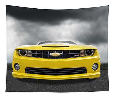 There's A Storm Coming - Camaro Ss Tapestry