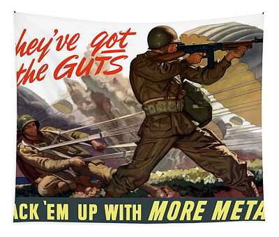 War Bonds Wall Tapestries